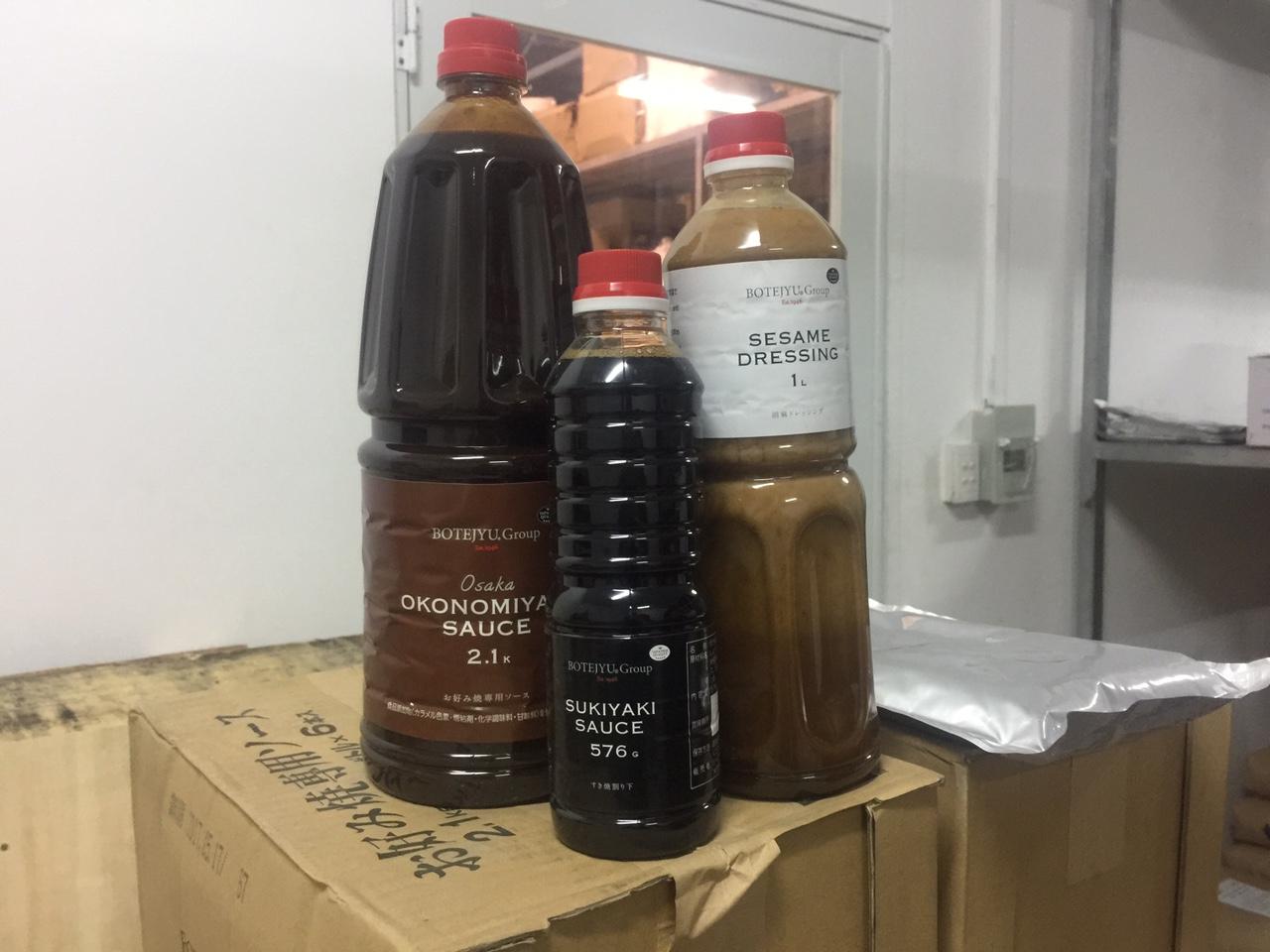 tiêu huỷ lô hàng thực phẩm hết hạn - nước sốt hết hạn